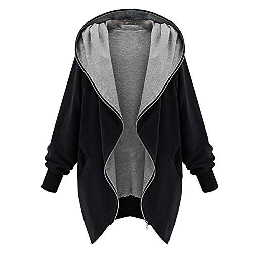 [CA Mode Women Batwing Hoodie Outwear Jacket Sweatshirt Athletic Jumper] (Ca Women Women Hoodies)