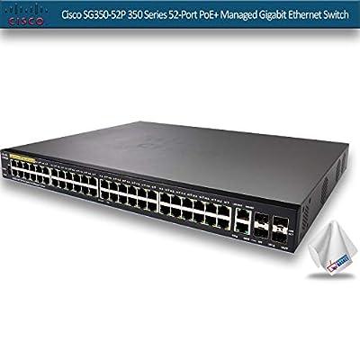 Cisco SG350-52P 350 Series 52-Port PoE+ Managed Gigabit Ethernet Switch SG350-52P-K9