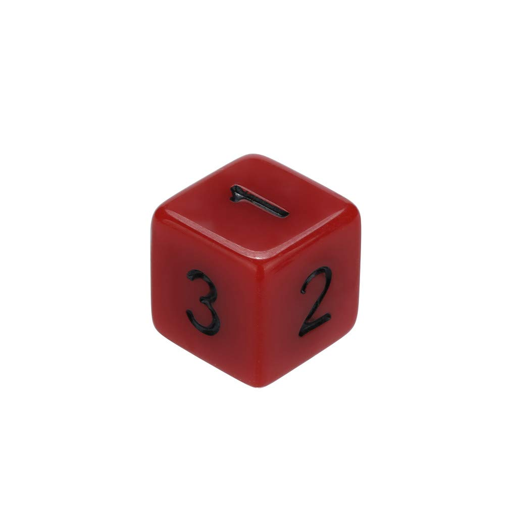 Dungeons and Dragons D&D Dice Set Red Polyhedral D4-D20 Game Dice for Role Playing Game TRPG Game 7PCSPlaying Game 7pcs (Red) by Codiak-Room (Image #5)