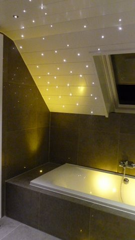 ss112 1led100t small fibre optic star ceiling kit with led source