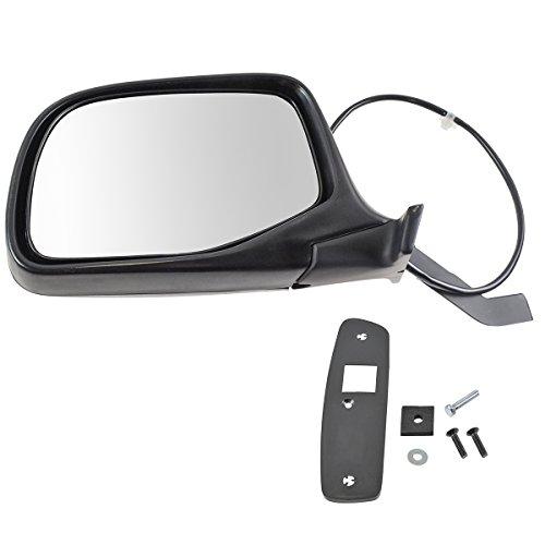 Chrome Power Side View Door Mirror Driver Left LH for Ford Pickup Truck - Ba 17683 Door