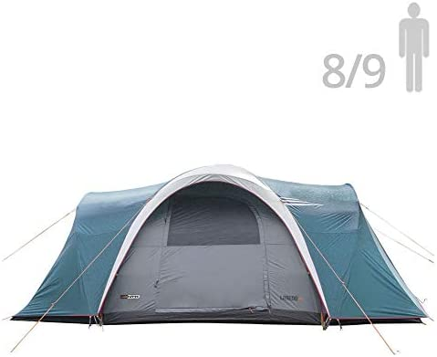 NTK Laredo GT 8 to 9 Person 10 by 15 Foot Sport Camping Tent 100 Waterproof 2500mm