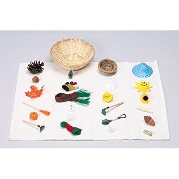 Montessori: The Four Seasons Miniature Object Sorting Kit