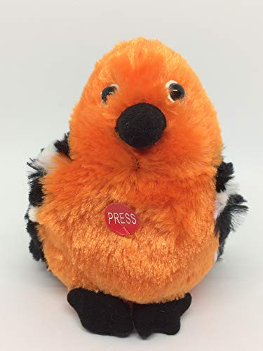 Ganz Cheerful Chirps Oriole Orange 6