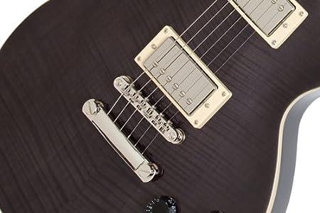 Epiphone Les Paul Tribute Plus Outfit - Guitarra eléctrica, color midnight ebony: Amazon.es: Instrumentos musicales