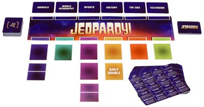 Mattel FFV25 Jeopardy Card Game
