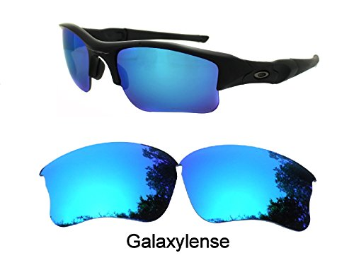 Galaxy Replacement lenses For Oakley Flak Jacket XLJ Sunglasses Polarized Ice - Oakley Lenses Replacement Xlj
