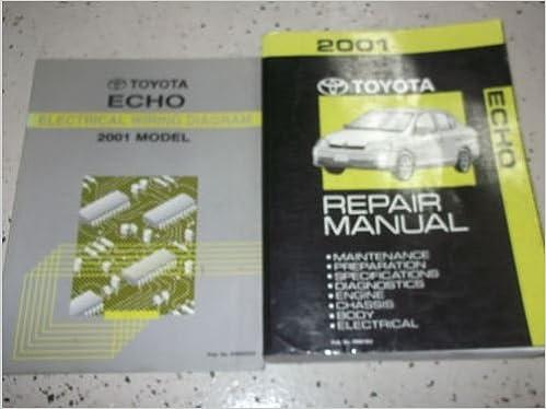 2001 toyota echo service shop repair manual set factory w wiring 2001 toyota echo service shop repair manual set factory w wiring diagram toyota amazon books swarovskicordoba Images
