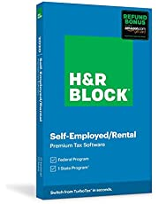 $43 » H&R Block Tax Software Premium 2020 with Refund Bonus Offer (Amazon Exclusive) (Physical Code by Mail)