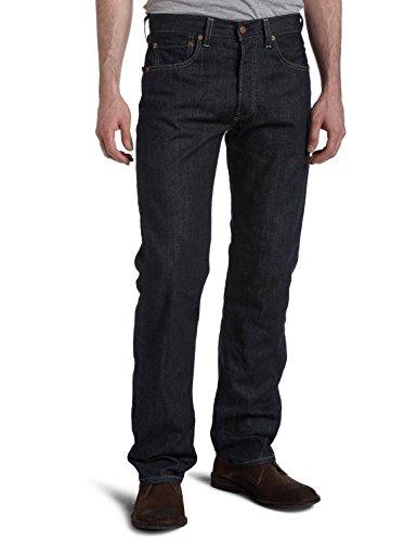 Levi's Men's 501 Original-Fit Jean, Clean Rigid, 38W x 36L
