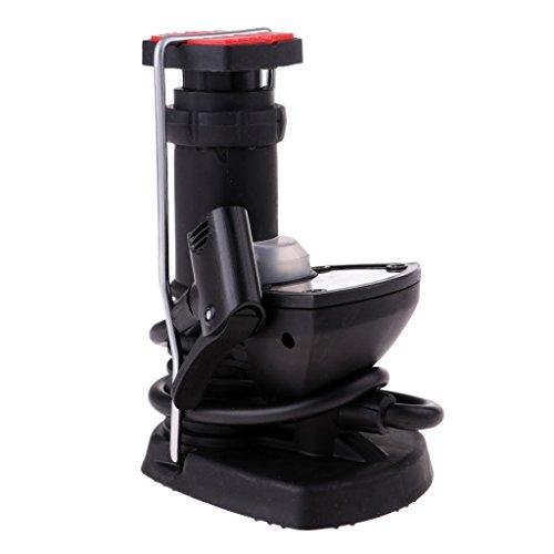 SunniMix ユニバーサル 実用的 プラスチック 高圧 自転車ポンプ 手 スポーツ ミニ 自転車 空気ポンプ タイヤ タイヤインフレータ