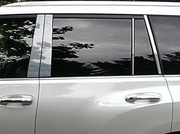 PP10122 4 Piece Stainless Pillar Post Trim QAA fits 2010-2019 Lexus Gx460