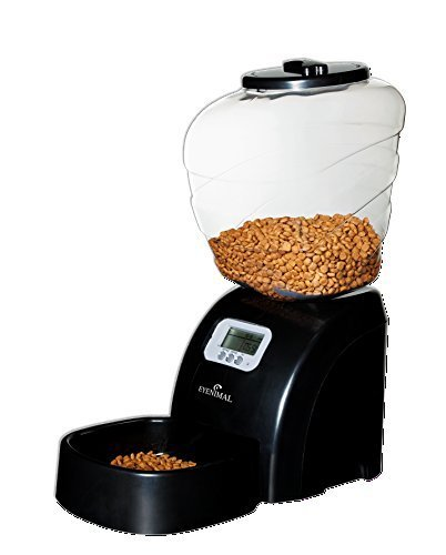 EYENIMAL Automatic Programmable Dog and Cat Feeder; Capacity up to 11lbs of dry food