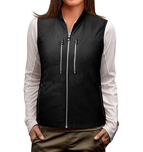 SCOTTeVEST 101 Travel Vest for Women with Pockets - Lightweight Utility Vest BLK M3 ()