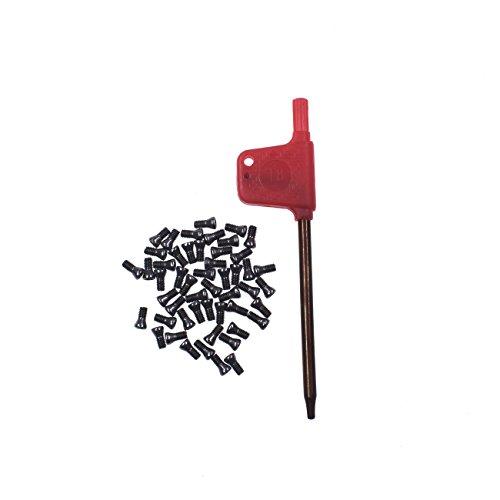 HGC 50pcs M2.5x6 Alloy Steel Torx Carbide Insert Screws For Replaces Carbide Insert CNC Lathe Tool