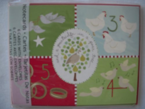 - Kate Spain Days of Christmas Cards with Rings, Doves, Hens, Calling Birds