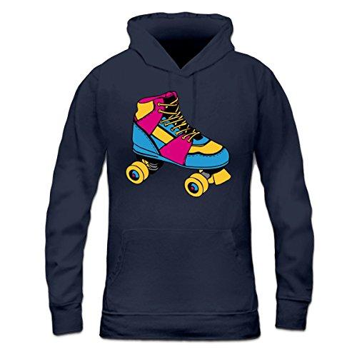 Sudadera con capucha de mujer Skates Patines by Shirtcity Azul marino