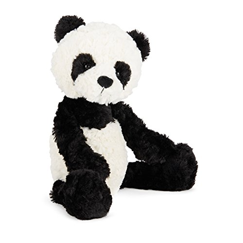 Jellycat Squiggle Panda Stuffed Animal, Small, 9
