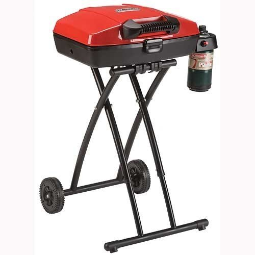 Deluxe Portable Outdoor Barbecue Propane Grill (Gas Grill Parts Coleman)