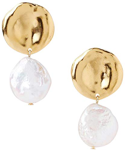 Chan Luu Women's Freshwater Cultured Pearl Double Drop Earrings, White Pearl, One Size Chan Luu Silver Earrings