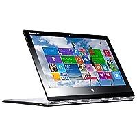 2016 Lenovo Yoga 3 Pro Convertible Ultrabook - 13.3 QHD+ Glossy Touchscreen, Intel Core M-5Y71, 8GB RAM, 256GB SSD, Bluetooth, Win 10 - Silver - 0.5 thin (Certified Refurbished)