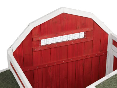 Prevue 465 Red Barn Chicken Coop by Prevue Pet Products (Image #3)