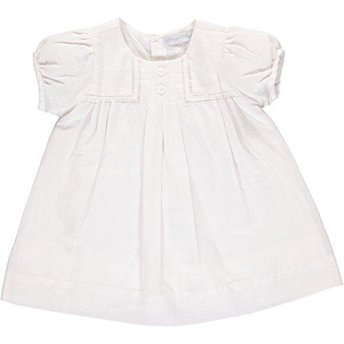 linen baptism dress - 3