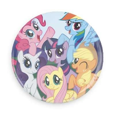 My Little Pony Pin Back Button/ Magnet (3 inch button) ()
