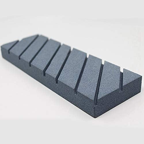 Noblik Piedra Aplanadora para Piedra de Afilar de Carburo de Silicio de Piedra de Afilar con Ranuras de Pulido de Pulido Grueso Fijador de Placa Aplanadora