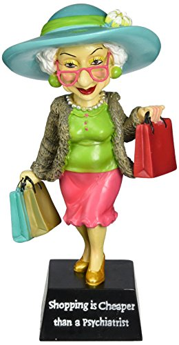 Westland Giftware Shopping is Cheaper 7-Inch Biddys Figurine