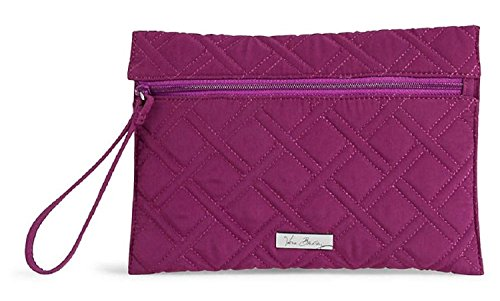 Vera Bradley Slim Zip Wristlet In Plum/Purple