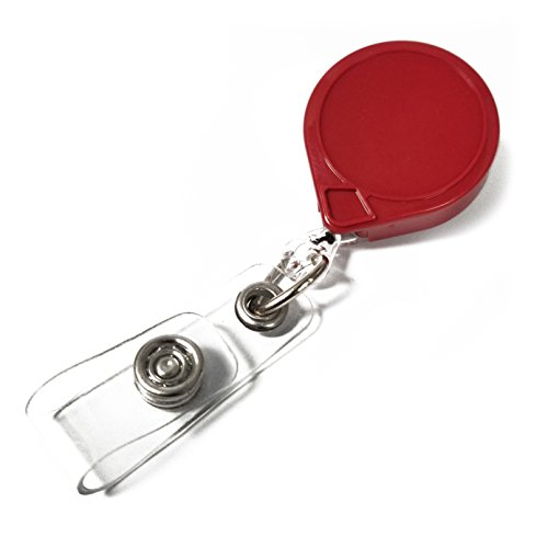 (KEY-BAK MINI-BAK Retractable Badge Holder with 36
