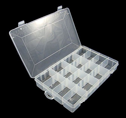 24 Compartment Storage Box & Hobby Storage: Amazon.co.uk