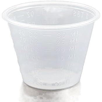 A World Of Deals 1 oz. Non-Sterile Graduated Plastic Medicine Cups, 100 Piece