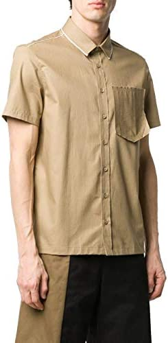 Neil Barrett Fashion Man BCM1362N0852573 Beige Cotton Shirt | Spring Summer 20