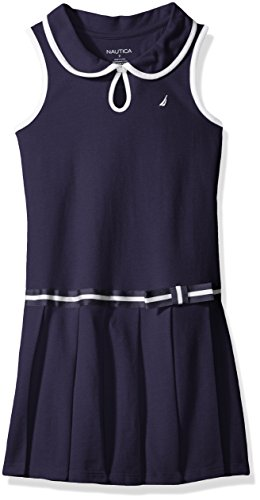 nautica-little-girls-pleated-dress-with-button-front-keyhole-navy-6