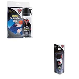 kitfaldcltfaldpsjc value kit dust off disposable compressed gas duster faldpsjc. Black Bedroom Furniture Sets. Home Design Ideas