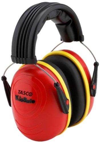 Tasco 2512 Kidsafe Over-the-Head Earmuffs, NRR=25, Red
