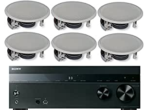 sony 5 2 channel 725 watt 4k a v home theater receiver yamaha easy to install high. Black Bedroom Furniture Sets. Home Design Ideas