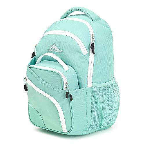 High Sierra Wiggie Lunch Kit Backpack, Aquamarine/White - Backpack+Lunch Kit