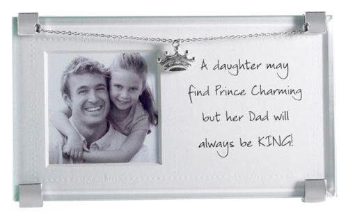 Amazon.com : Mud Pie Picture Frame, Dad And Daughter (Discontinued ...