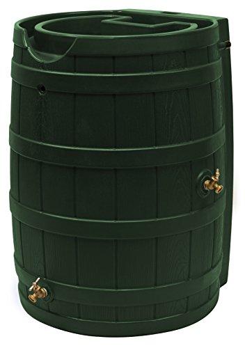 Good Ideas RW65-GRN Rain Wizard Rain Barrel 65 Gallon, Green