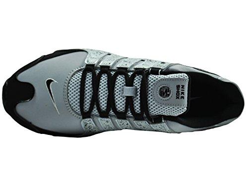 Uomo Lupo Eu Shox Grigio Sportive Nz nero Nike Scarpe Xx7T0w1qq