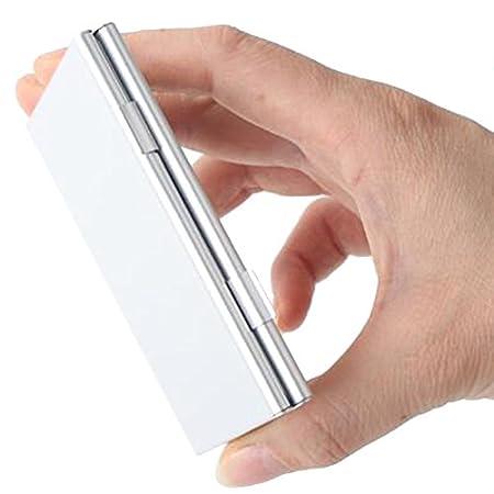4X f/ür SD-Karte 8 x Mikro-Sim Karte Q4Tech Aluminium-Speicherkarten-Aufbewahrungsbeh/älter Protecter Fall Schwarz
