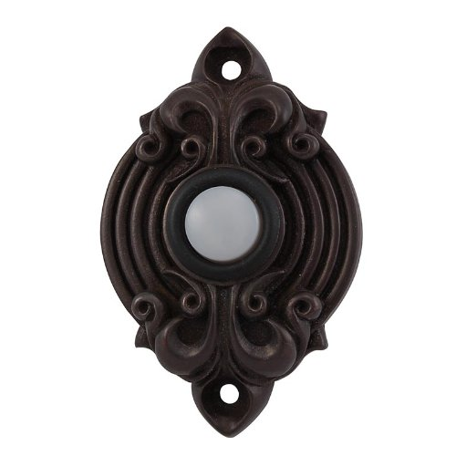 Vicenza Designs D4006 Sforza Doorbell, Oil-Rubbed Bronze by Vicenza Designs