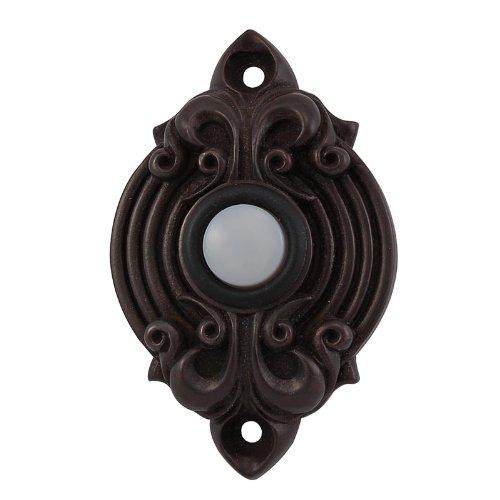Vicenza Designs D4006 Sforza Doorbell, Oil-Rubbed Bronze