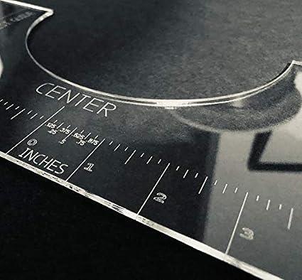 T-Shirt Alignment Ruler Tool.Centering Tool HTV Alignment T-Shirt Ruler Guide US