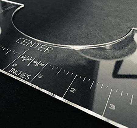 T-Shirt Alignment Tool - Ruler - Centering Tool | HTV Alignment | Guide