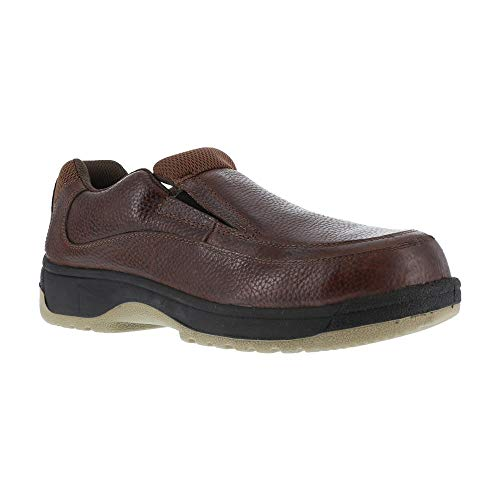 (Florsheim FS2405 Men's Eurocasual Safety Shoes - Brown - 3.5-3E )