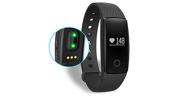 Baodanjiayou - Pulsera de Monitor de Ritmo cardíaco para ...